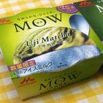 MOW抹茶アイスのプレミアム版!ミルキーで華やかな味わい