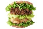 絶句! モスバーガー肉を肉ではさんだ「にくにくにくバーガー」