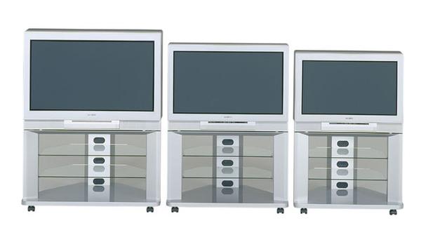 2001年に発売されたハイビジョンテレビ「D2500」シリーズ。実は2000年以降も「バズーカウーハー」という形で搭載されていた