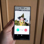 Xperia XZ Premiumの伝言メモ機能で留守番電話もOK