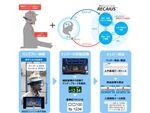 眼鏡型ウェアラブル端末と会話AIを用いた建設現場向けシステム「T-Gate.Navi」