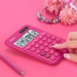 カシオ、税計算機能も付いたカラフルでスタイリッシュな電卓