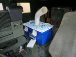 米軍車両のハンヴィー用にお手軽クーラーを作ってみました