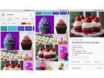 グーグル、モバイル版の画像検索画面に「レシピ」などのバッジが表示