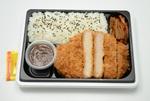 セブン-イレブン圧倒的肉厚「ロースとんかつ弁当」厚さ15mmで食べごたえ