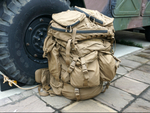 「米海兵隊バックパック」メインパックの拡張性のすごさを確かめました
