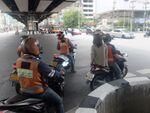 タイでも大人気の「LINE」、バイクを使う独自のデリバリーサービスを試す!
