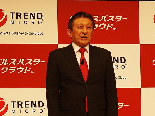 トレンドマイクロ取締役副社長の大三川彰彦氏