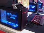 マウスのゲーミングPCが7ブースに導入されていた東京ゲームショウ2017