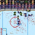 ぶん殴れ!ぶっ飛ばせ!血も滴る氷上の格闘技。スポーツアクション「Super Blood Hockey」:Steam