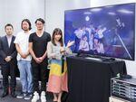 SKE48の松村香織さん登場で大盛り上がり! シャープの8Kイベントを開催