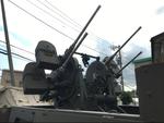 四連装重機関銃が付いたハーフトラックを見てきました