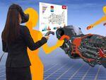 VRを活用したものづくり、仮想空間に3D CADデータを直接表示など