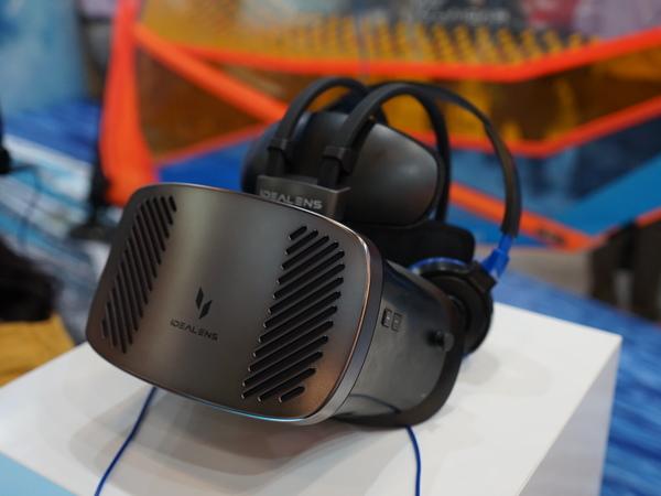 VRゴーグルによるウィンドサーフィン体験も