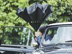 乗車時にシートが濡れにくい逆開閉傘「サーカス」が3000円台