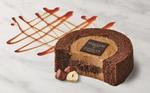 ローソン×ゴディバ「キャラメルショコラロールケーキ」めちゃうまそう