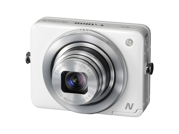レンズ周囲のリングがシャッターボタンとして機能する「PowerShot N」
