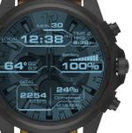 ディーゼルの話題スマートウォッチは時計のリュウズみたいに回って便利