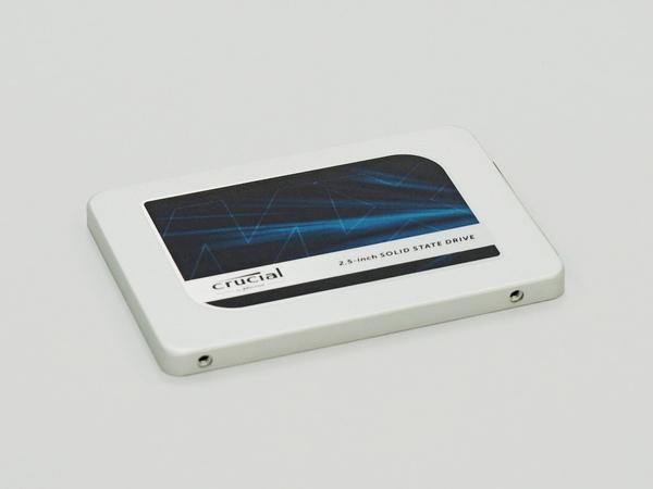 ストレージは「Crucial MX300」。275GBという、ちょっとお得感のある製品だ