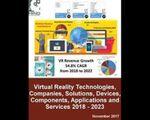 マインドコマース、VR市場の概観調査レポートを出版