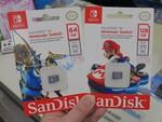 マリオとリンクのパッケージ! Switch公式ライセンスのmicroSDカード
