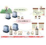 NTT西日本、公衆電話ボックスを貸し出し