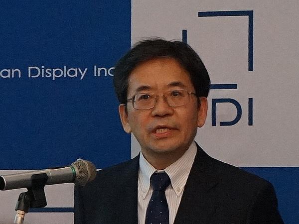 ジャパンディスプレイ 執行役員チーフテクノロジーオフィサーの瀧本昭雄氏