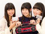 「ハコイリ♡ムスメ」中学生メンバーがカセットテープでラジオを収録