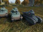 World of Tanksに「ガルパン最終章」BC自由学園仕様の戦車MODが登場