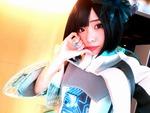 仮面女子・窪田美沙ちゃんがiPhone XとZenFone 4 Selfie Proで自撮り対決!