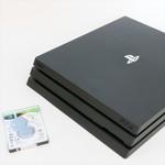 PS4 Proを1万2500円前後で2TBのSeagate製SSHDに換装したら超快適に!