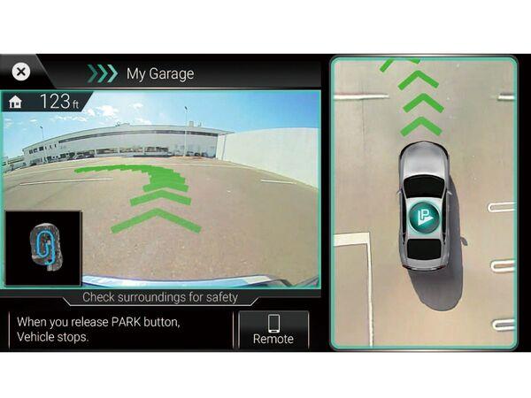 日立、自宅駐車場を記憶する自動駐車技術「Park by Memory」を開発