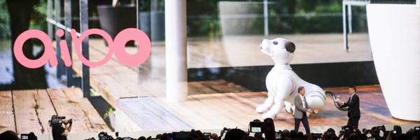 海外メディア向けにも「aibo」復活を発表