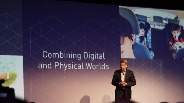 パナソニックの特に業務向けビジネスのキーワード「Combining Digital and Physical Worlds」