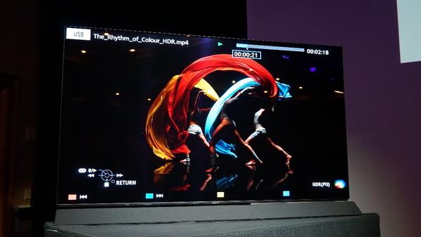 4K有機ELテレビの欧州向けモデルとして「FZ950」を初披露