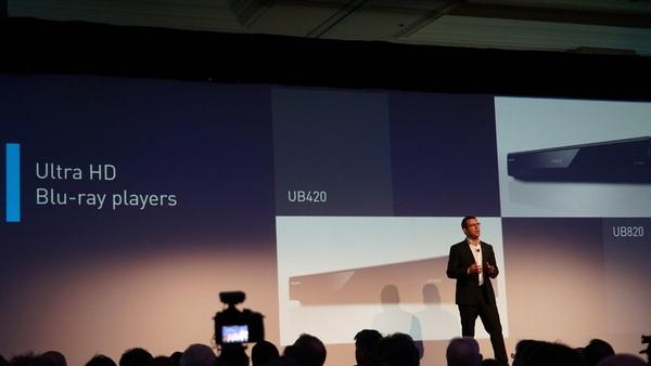欧州向けとなるUltraHD Blu-rayプレーヤー「UB820」「DP-UB420」