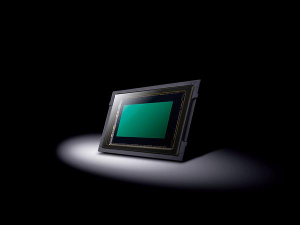 GH5Sのイメージセンサー。各画素の面積が約2倍となっている
