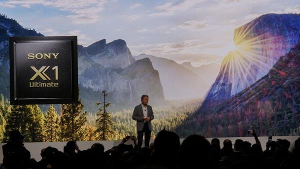 ソニーのテレビの今年の目玉は、高画質エンジン「X1 Ultimate」のプロトタイプ
