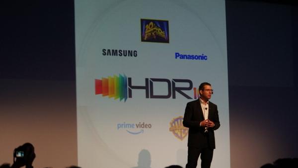 パナソニックのプレスカンファレンスでも発表された「HDR10+」の進捗