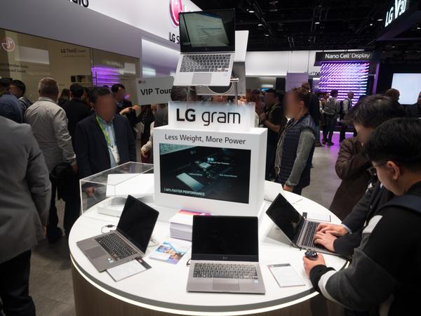 「gram」シリーズの最新モデルで13インチ、14インチ、15インチの3つをラインアップ