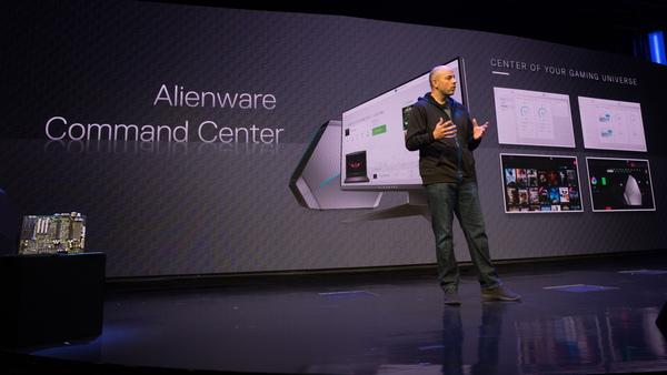 ゲームに関する管理をまとめて行える「Alienware Software Command Center」