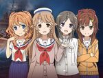 「はいふり」×「World of Warships」コラボ第2弾で特別艦長4名が登場!