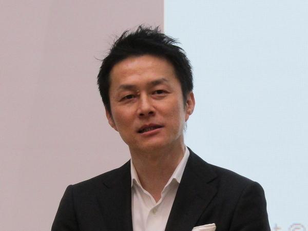 ディスプレイソリューションカンパニー社長の湯田克久氏