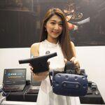VIVE PROやワイヤレスアダプターも! 台北ゲームショウ・HTCブースをレポート