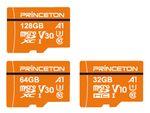 プリンストン、A1規格対応microSDXC/SDHCカード「PMSDA」シリーズ