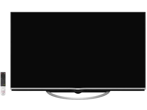 UH5と同じAI搭載のミドルクラスモデル「US5」。画質・音質面でUH5の下位モデルという位置づけ。60V型(実売30万円前後)、55V型(同26万円前後)、50V型(同19万円前後)がある
