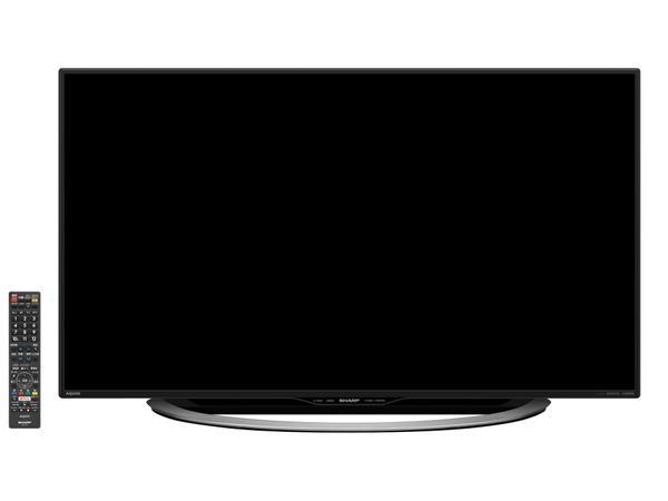 同社の4Kテレビで一番価格がお手頃な「U45」。60V型(実売18万円前後)、55V型(同14万円前後)、45V型(同9万5000円前後)、40V型(同9万円前後)がある