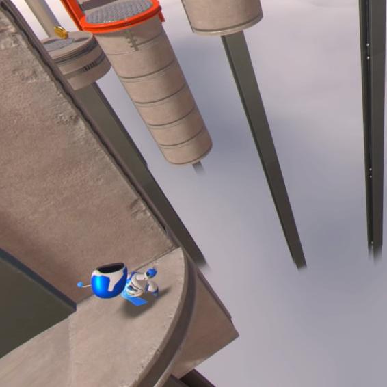 PS4VRアクション「ASTRO BOT」は箱庭に入り込める臨場感!