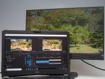 動画編集捗る、4Kディスプレー3台接続できる17.3型ノートPC