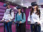 VR体験のできるレストラン「VREX」新宿店が3月オープン